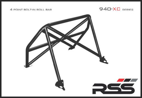 94034 Xc Series 4pt Roll Bar 991 Gt3 Rs Finish Red