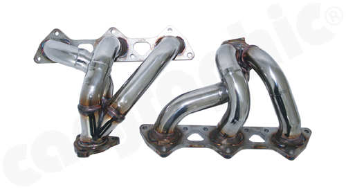 Cargraphic 996TT / 997TT / GT2 Racing Manifolds - Header Set