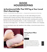 Top 25 Sentimental Gifts, According to Good Housekeeping