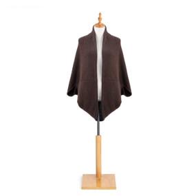 dark brown cardigan on mannequin