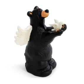 Peace Angel Bear Figurine