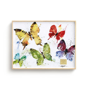 Flock of Butterflies Wall Art