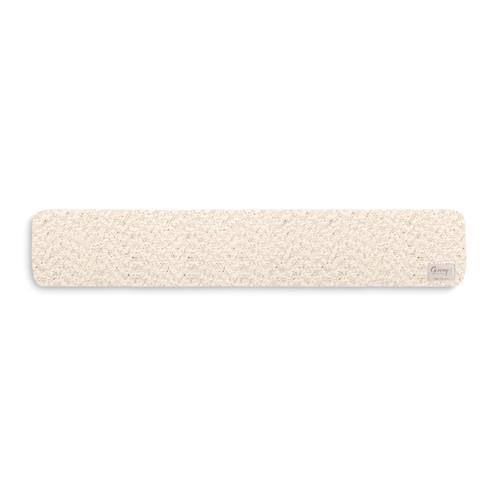 cream knit neck wrap