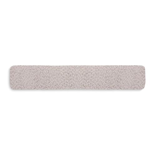 gray knit stuffed thin rectangle