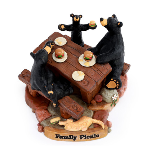 Family Picnic  Figurine
