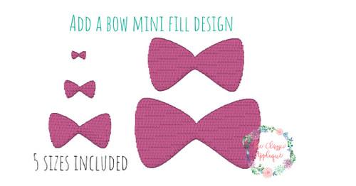 Mini Fill Stitch Machine Embroidery Designs By The Classic Applique