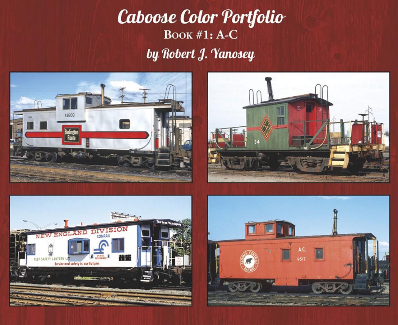 Caboose Color Portfolio -- Book 1: A-C (Soft Cover)