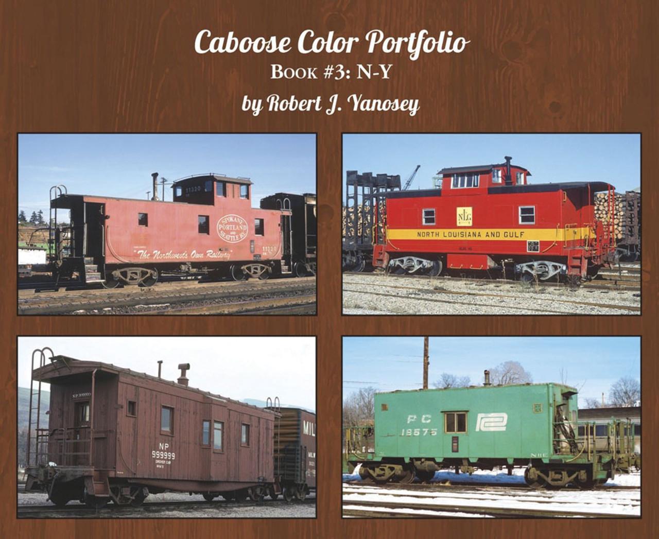 Caboose Color Portfolio -- Book 3: N-Y (Soft Cover)
