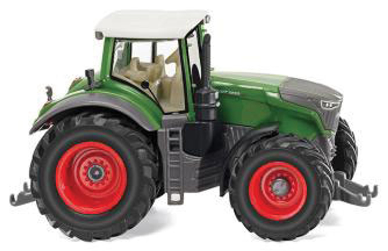 Fendt 1050 Vario Farm Tractor - Assembled -- Green, Gray -  Scale: HO