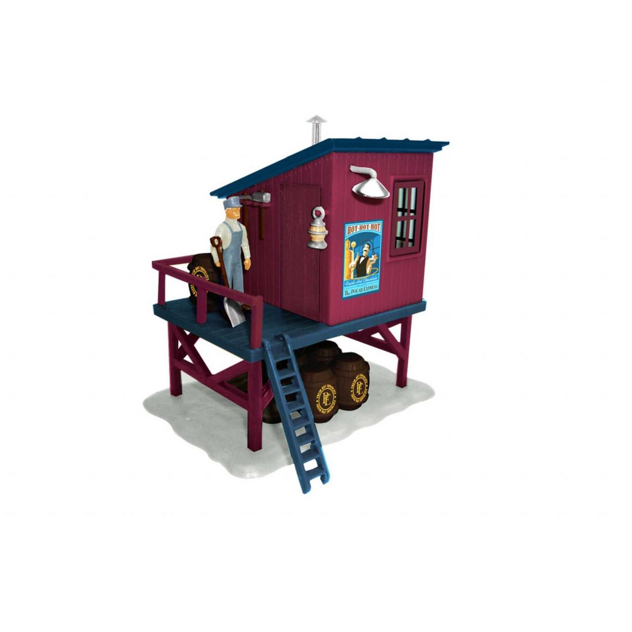 Lionel 2030150 - The Polar Express Barrel Shed