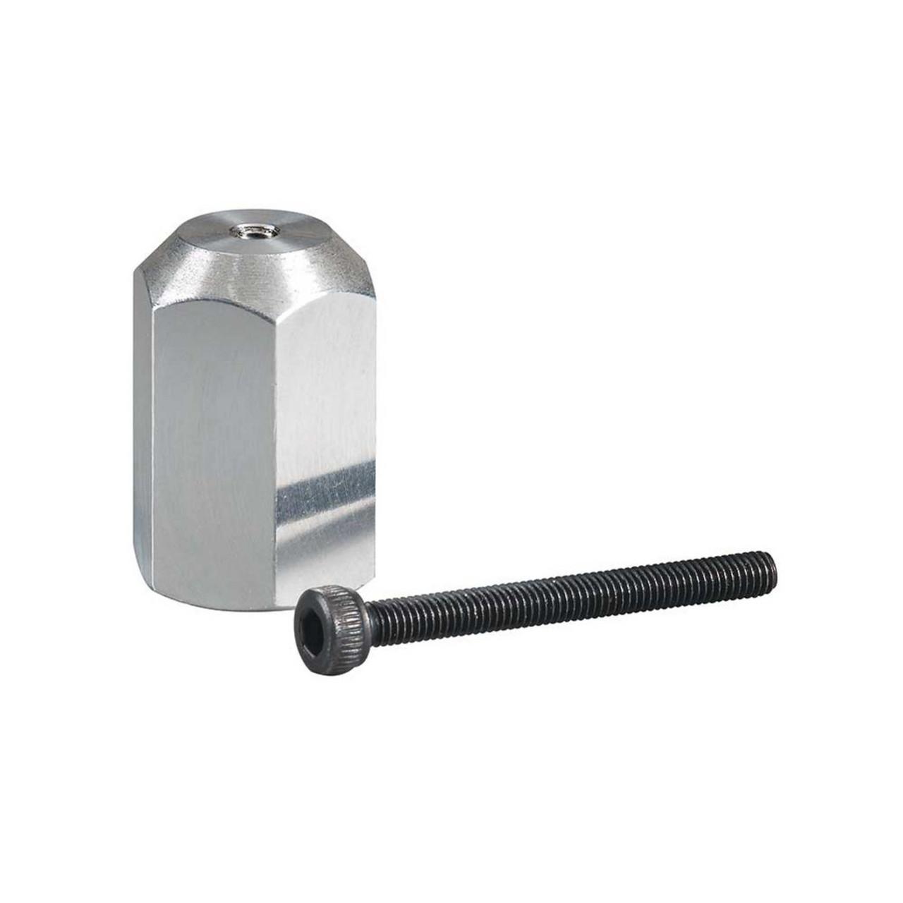 """Aluminum E-Spinner 3/8""""-24 Adapter"""