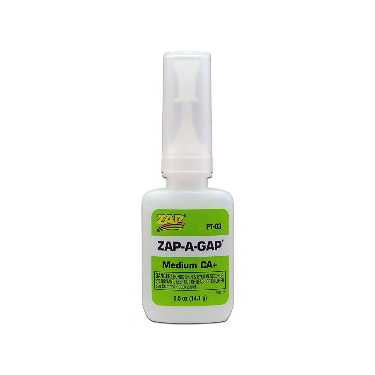 ZAP Glue PT03 - ZAP A Gap CA+ Glue, 1/2 oz