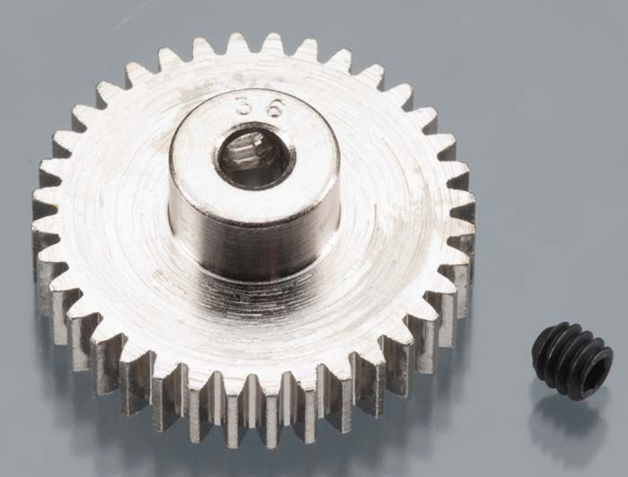 Nickel-Plated 48-Pitch Pinion Gear, 36T