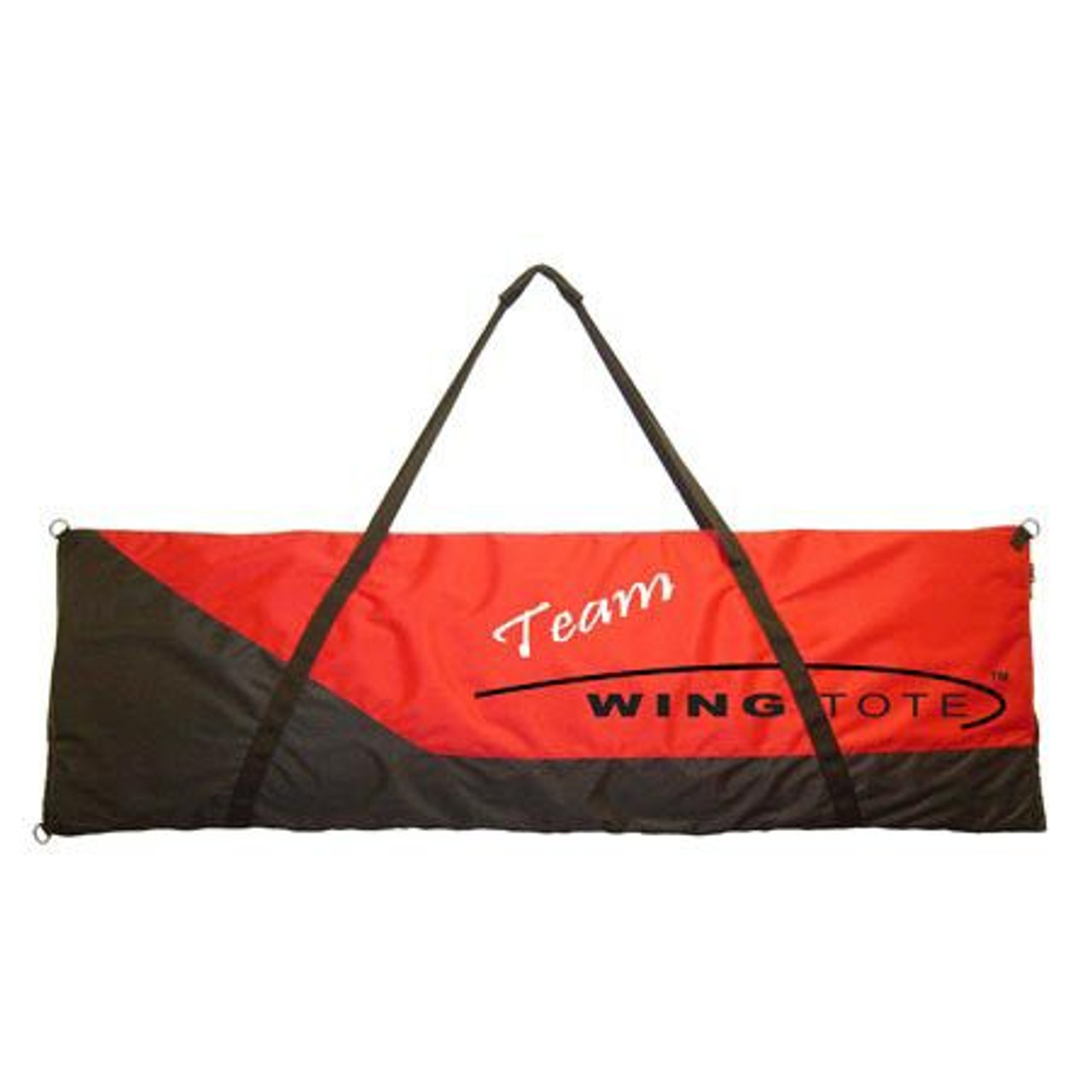 """Wingtote LLC 106 - Extreme Med Tote,74""""x20""""x3"""",Red/Black"""