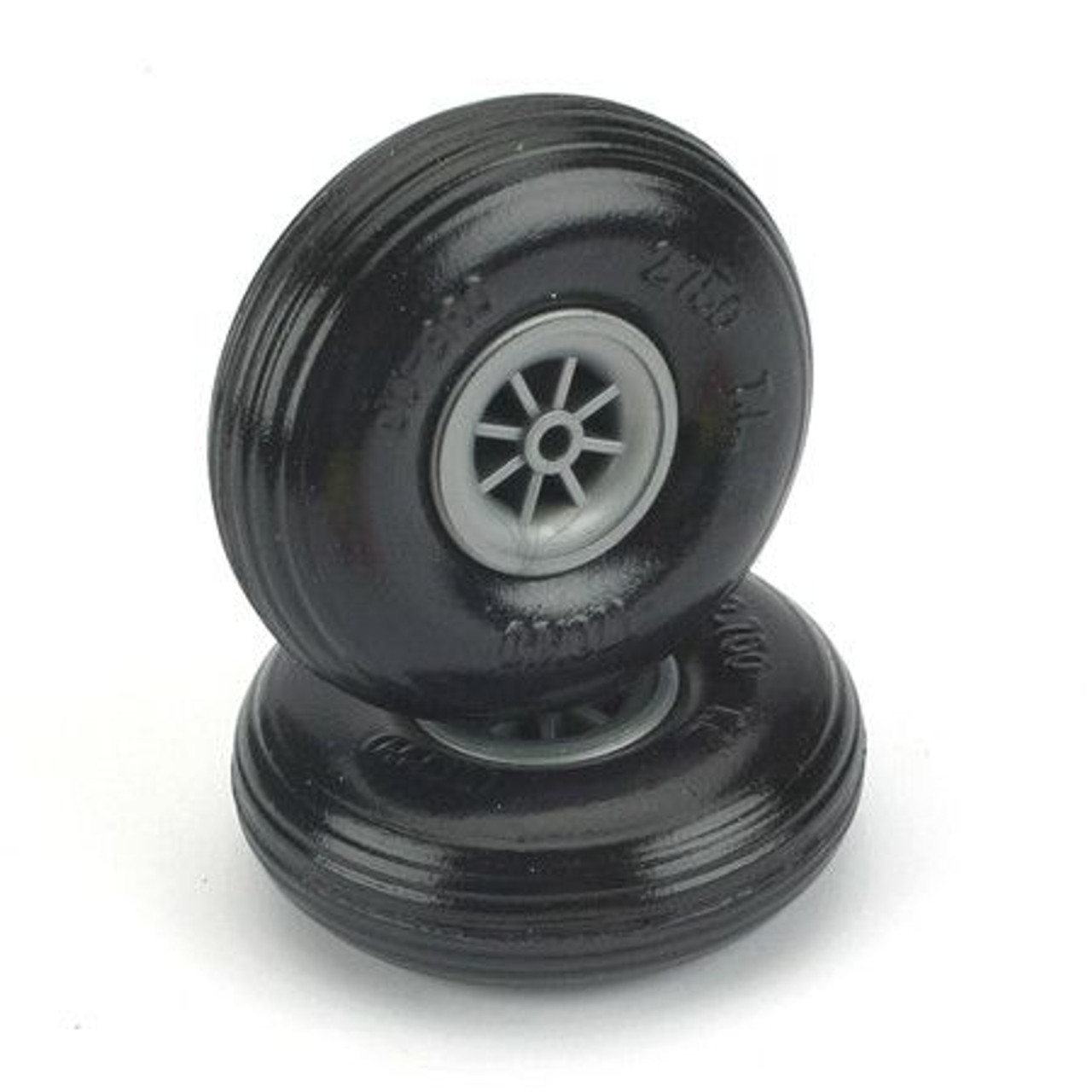 """Dubro Products 275TL - Treaded Lite Wheels,2-3/4"""""""