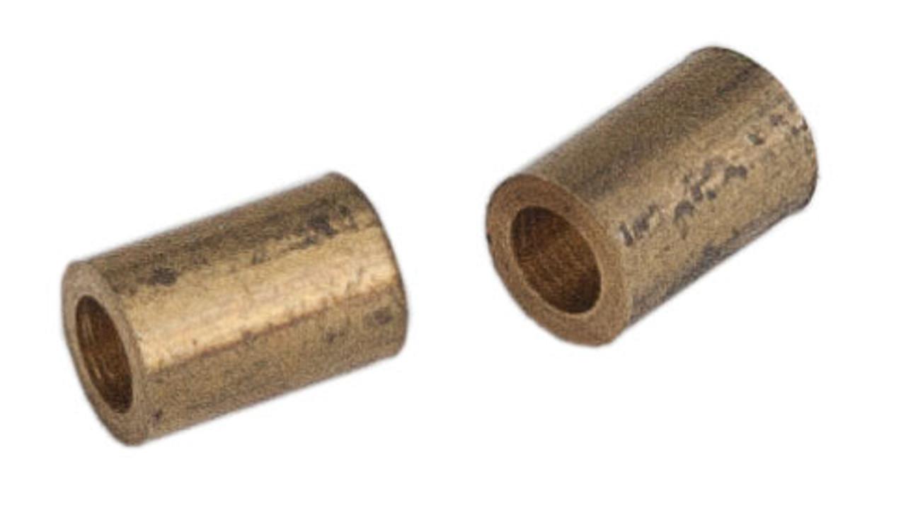 """Brass Bushing pkg(2) -- 2.0mm x 1/8"""" x 4.75mm"""