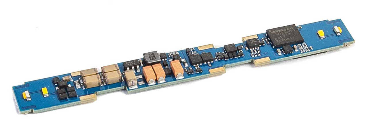 LokSound 5 Micro DCC Sound and Control Decoder -- Fits Atlas, Intermountain Diesels - Blank Sound Files