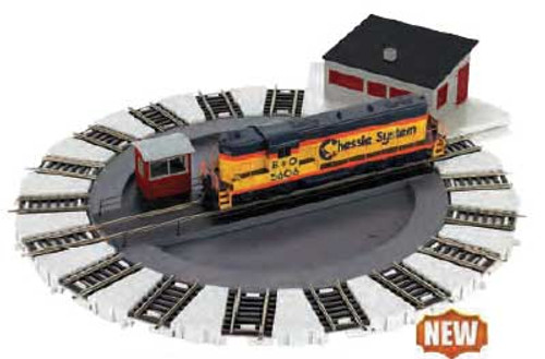 E-Z Track(R) -- DCC-Equipped Turntable - Scale: HO