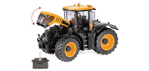 Scale: 1/32 - JCB Fastrac 8330 Farm Tractor - Assembled -- Yellow, Black