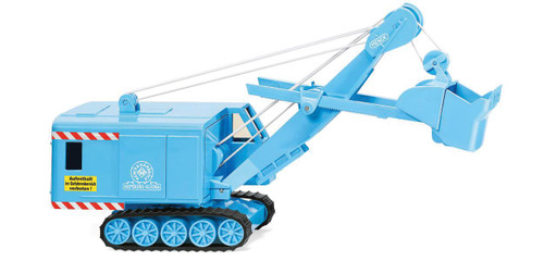 Scale: HO - 1954-1956 Menck Excavator - Assembled -- Light Blue
