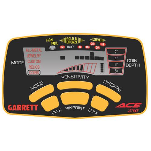 Garrett Metal Detectors 1139070 - Ace 250 Metal Detector