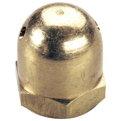 """Brass Heavy Spinner Nut 1/4""""-28"""