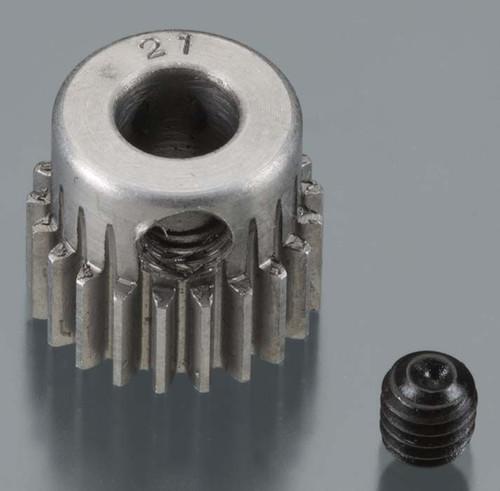48 Pitch Machined, 21T Pinion 5mm Bore