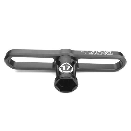 TEKNO RC LLC 1116 - 17mm Wheel Wrench, Shock Cap Tool