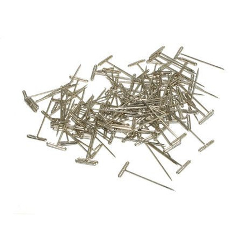 """Dubro Products 254 - T-Pins, Nickel Plated, 1-1/2"""" (100)"""