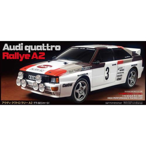 1/10 Audi Quattro A2 TT-02