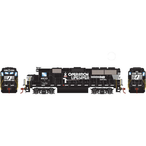 Roundhouse 12653 - HO GP59 w/DCC Decoder, NS #4633