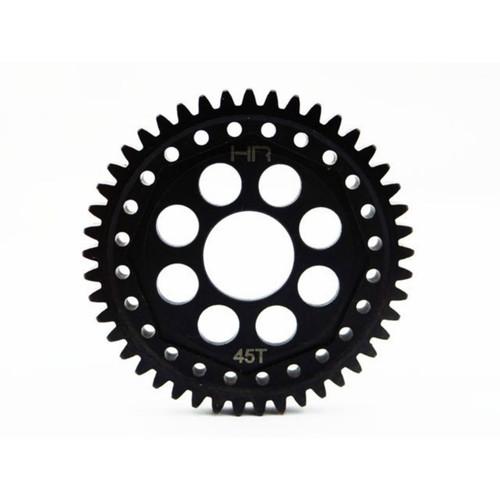 Hot Racing SECF45M1 - Steel 45 Tooth Mod 1 Gear: 4wd ECX