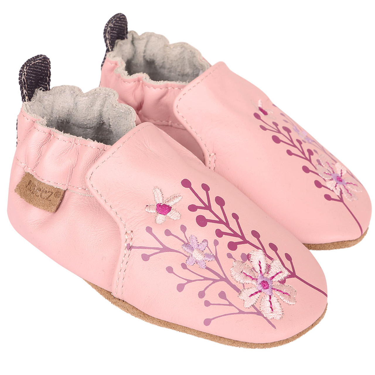 658cd006f90587 Blooming Floral Soft Soles - Angle