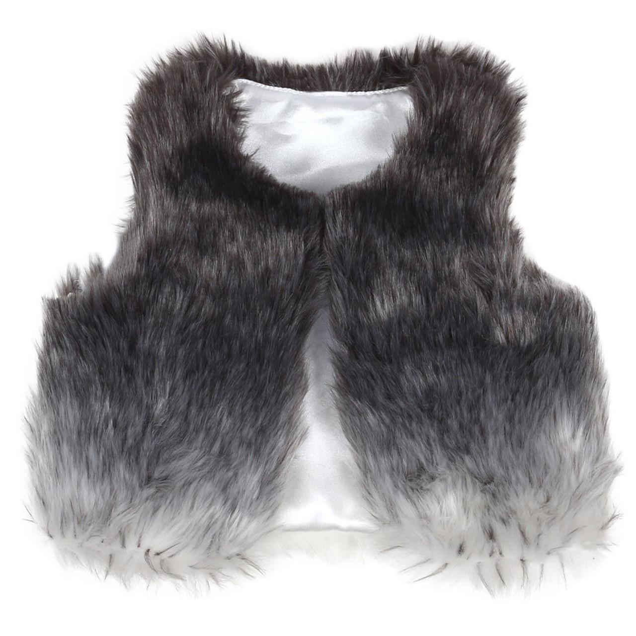 63925cacd3c8 Faux Fur Vest