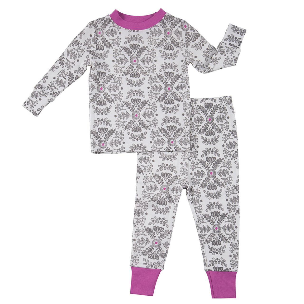 Robeez Floral Sleepwear Set - Front a7b7a5561