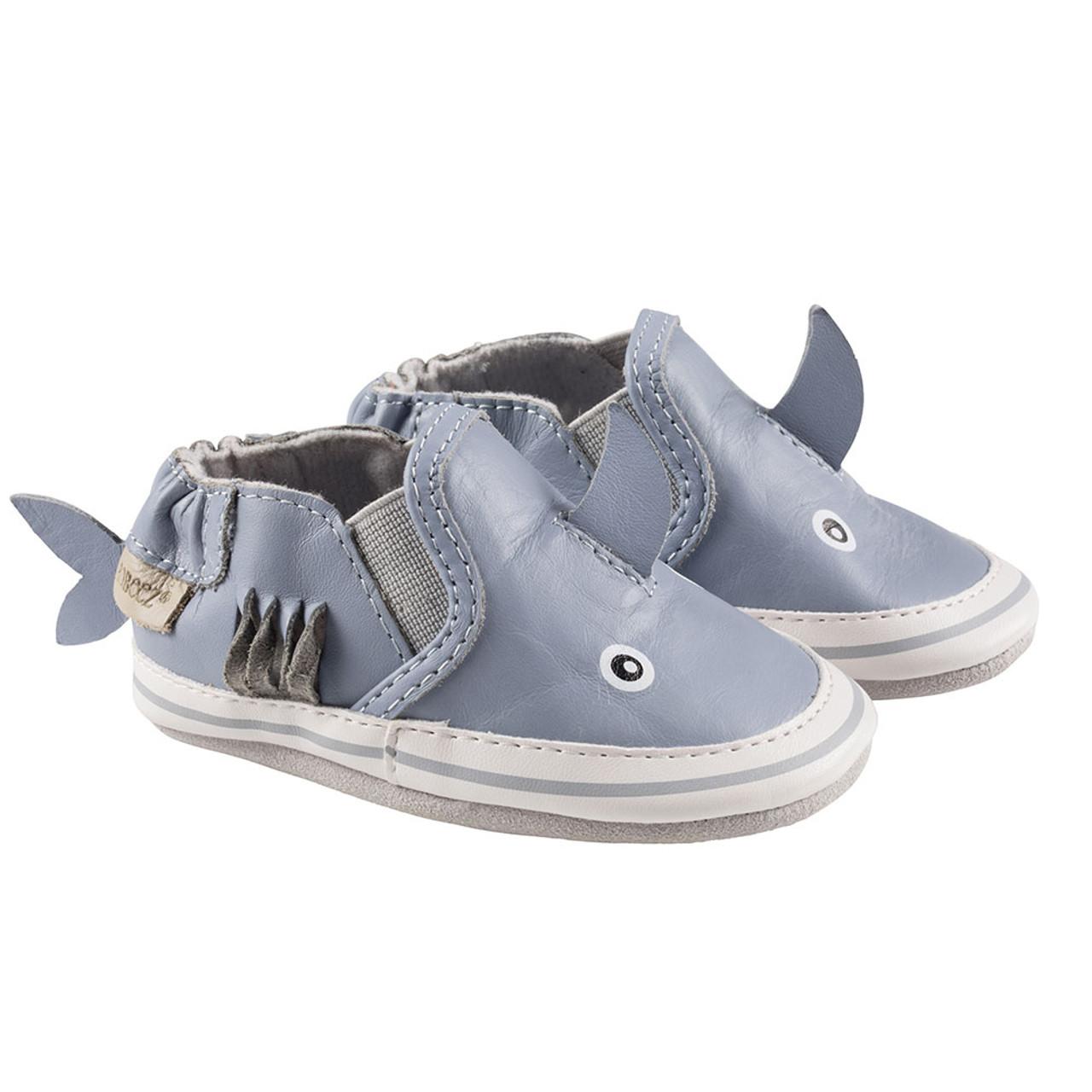 Blue Sebastian Shark | Soft Soles