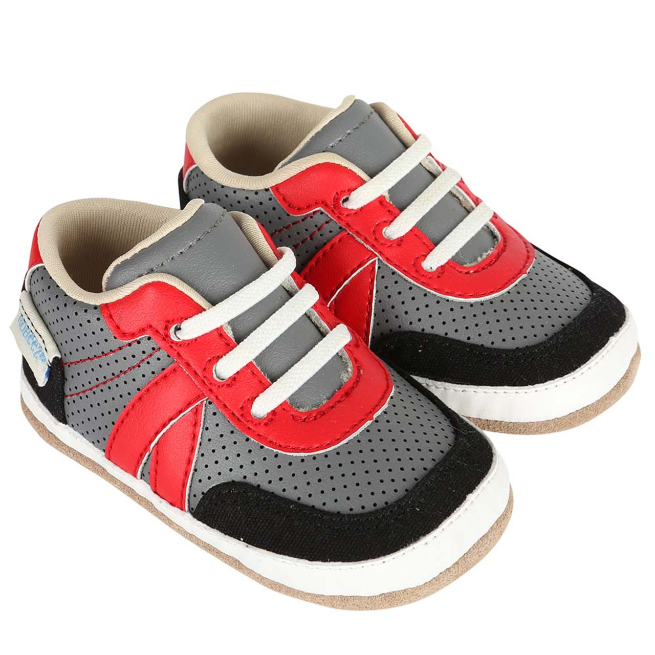 5e1a53dc90b Baby shoes for boys and girls that look like athletic shoes for mom or dad.