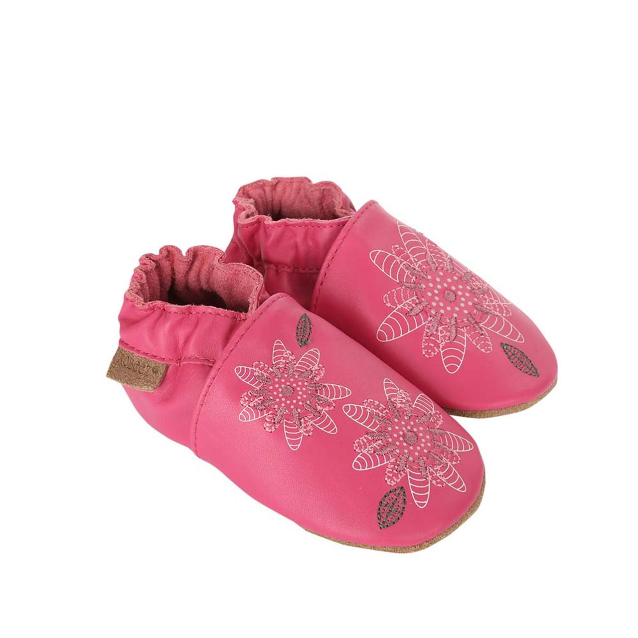 17cdafc66d6cb Fiona Flower Baby Shoes, Soft Soles