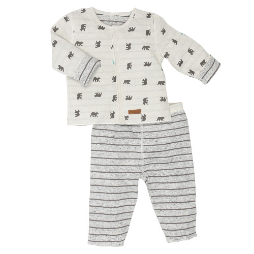 Robeez Reversible Shirt and Pants Set - Front
