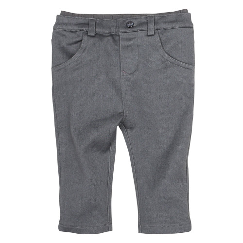 Robeez Grey Soft Jean - Front