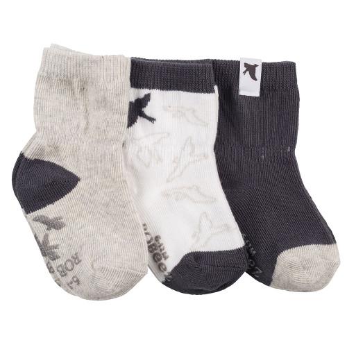 Robeez Little Birdie Socks, 3-Pack