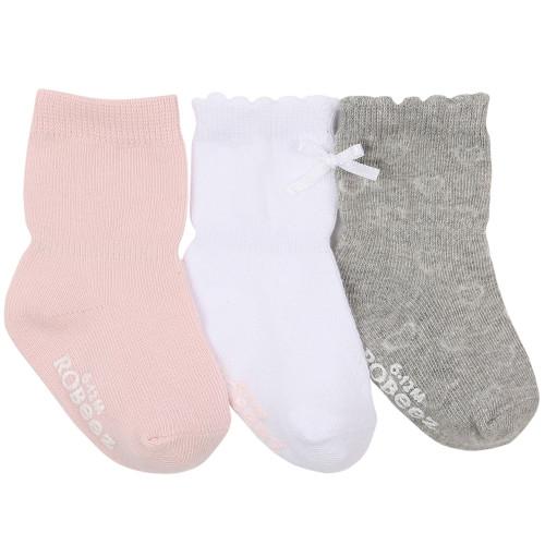 Robeez Basics Baby Socks 3 Pack