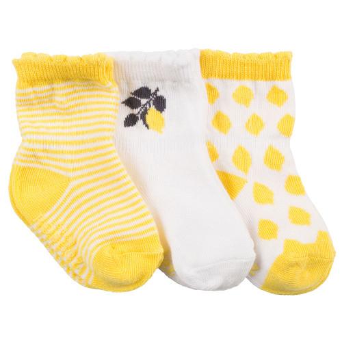 Robeez Lemonade Socks, 3-Pack