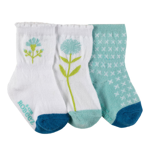 Robeez Spring Has Sprung Socks, 3-Pack