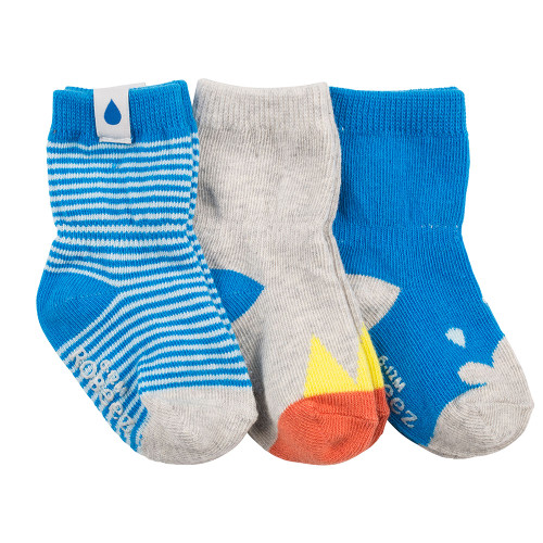 Robeez Rain or Shine Socks, 3-Pack