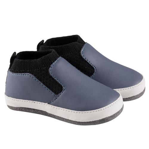 Robeez Blue Maddox Mini Shoez- Angle