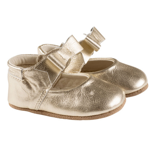 Robeez Gold Sofia First Kicks - Angle