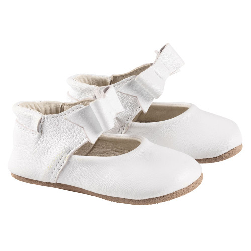 Robeez White Sofia First Kicks - Angle