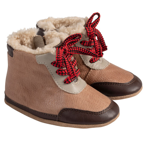 Angle - Robbez Beige Wyatt Soft Soles Boots