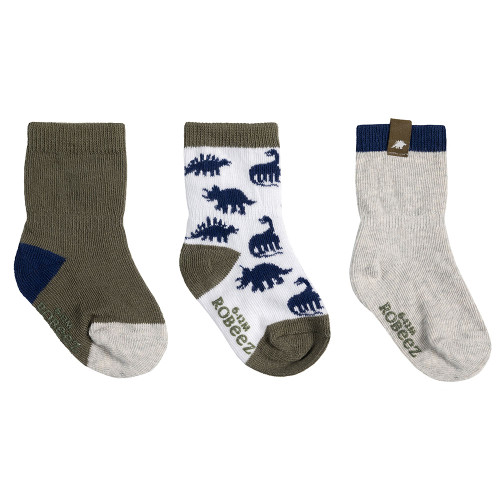 Robeez Ramsey Socks, 3-Pack